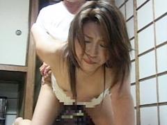 【エロ動画】突撃 すけべぇ義父のとなりの嫁いぢりのエロ画像
