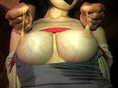 【エロ動画】母乳ママ崩壊のエロ画像