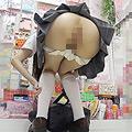 ローアングル制服 肛門コレクション7704-002