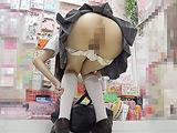 ローアングル制服 肛門コレクション7704-002 【DUGA】