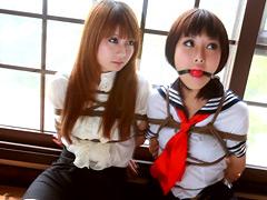 【エロ動画】美人姉妹たちの連縛競演のエロ画像