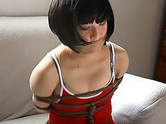 【エロ動画】全身タイツ+緊縛のスパーク - 極上SM動画エロス