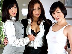 【エロ動画】美熟女レズビアン建設会社のエロ画像