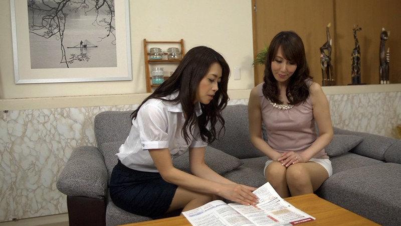 私は貴女に愛される…。美熟女の情欲レズドラマ 北条麻妃×澤村レイコ の画像7