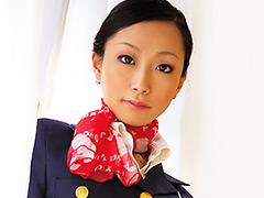 【エロ動画】美人CA衝撃ジャポルノ出演! 飯田(ミャオ)麻衣のエロ画像