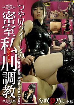 「つや尻クイーンの密室私刑調教 夜咲夢乃女王様」のパッケージ画像