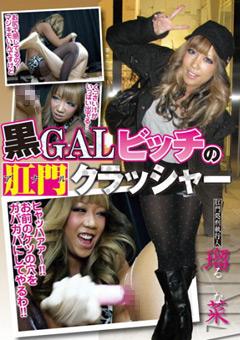 「黒GALビッチの肛門(アナル)クラッシャー 瑠菜」のパッケージ画像