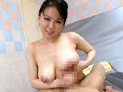【エロ動画】人妻淫語中出しソープ 雌犬妻 佐藤美紀のエロ画像