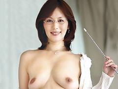 【エロ動画】おしえて!お母さん 翔田千里のエロ画像