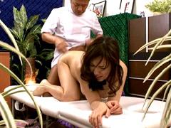 【エロ動画】嫁をマッサージ師に寝取られた 長澤あずさの人妻・熟女エロ画像
