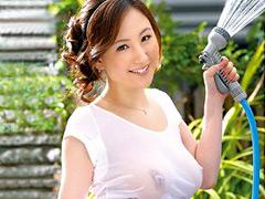 【エロ動画】親族相姦 きれいな叔母さん 冴島かおりのエロ画像