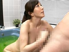 【エロ動画】湯けむり近親相姦 母子入浴交尾 澤村レイコのエロ画像