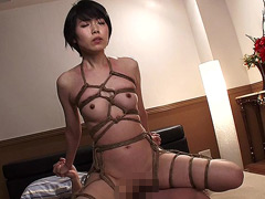 【エロ動画】卑辱の勃起乳首嫁しばり 櫻井菜々子