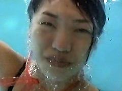 【エロ動画】顔スト水中 その弐のエロ画像