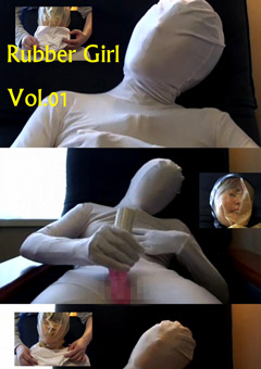 【フェチ動画】Rubber-Girl-Vol.01