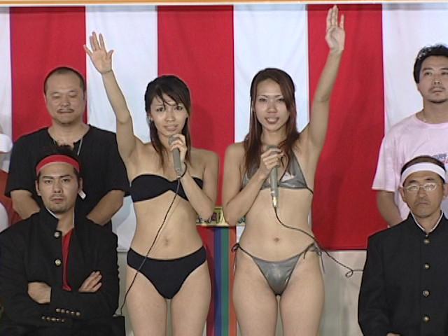 ドキッ!女だらけのTバック水泳大会66人300分