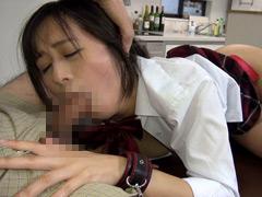 女子校生のデカ尻娘を拘束しバイブ突っ込み放置アクメ