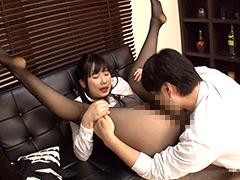 優しいデカ尻姉の黒パンスト姿に理性崩壊!2