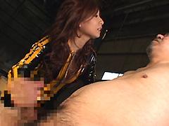【エロ動画】レイプウーマン・第一章 Marin.のエロ画像