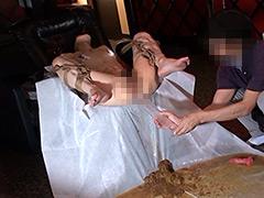 【エロ動画】初浣腸調教! 若妻アナル責めに狂う!のSM凌辱エロ画像