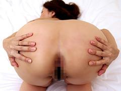 【エロ動画】アナルと中出しと熟女001 菊川麻里のエロ画像