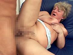 【エロ動画】欧米六十路熟女2のエロ画像