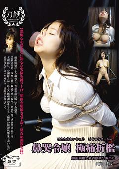 「鼻哭令嬢 極痛折檻 顔面崩壊と乳首陰核分銅吊り」のサンプル画像