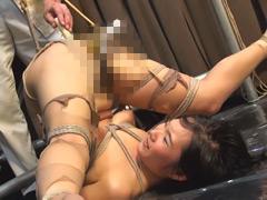 膣穴アナル悶絶調教 ~竹鞭連打と浣腸糞出~ 御前珠里