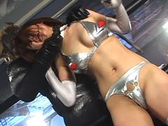 グラドルバトル 格闘美少女アンドロイド セクシーハニー