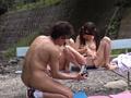 夏休み水泳教室スク水日焼け少女わいせつ映像のサンプル画像13