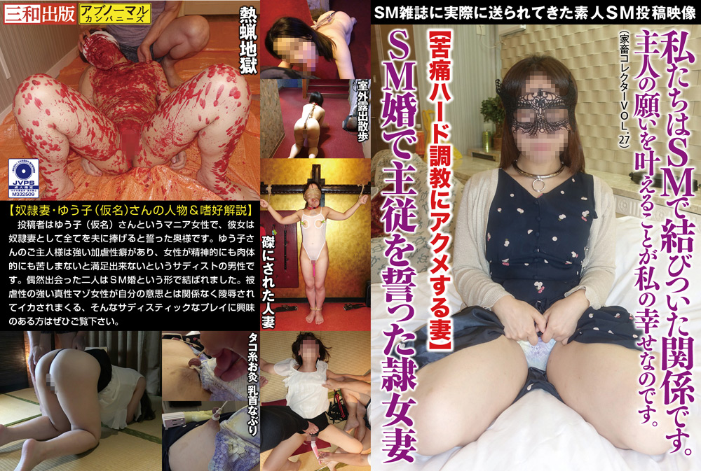 IdolLAB | abnormal-0027 隷女妻 【苦痛ハード調教にアクメ】家畜コレクター27