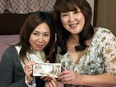 神谷みさとクンニ動画|賞金30万円 熟レズバトル 子持ち熟女編