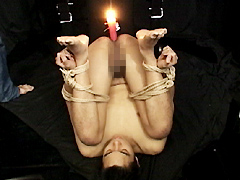 蝋燭、牛乳浣腸、穴拡張…緊縛調教の果て