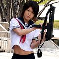 KANON 女装少年があの名作に!?セーラー服と機関銃♪