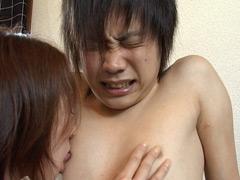 あたるクンニ動画|突撃イケメンのお宅訪問!お姉さんにされるがままの少年