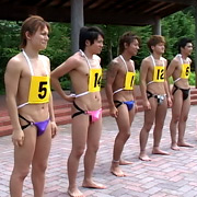 男だらけの大運動会2(第一競技 第2レース)