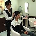 美容室のイケメン店員が客にエッチな接客サービス!!|人気の ゲイイケメン動画DUGA
