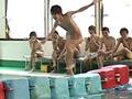 男だらけの水泳大会! 第三競技&シャワールームでSEX!