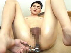 【まさき動画】まさき、アナル・前立腺を責められまくって悶絶!! -ゲイ