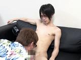 P17ホスト系男子『刃』くん、初撮影で男にイカされる!【Acceed - アダルト動画 DUGA】