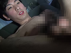 車内オナニーシリーズ!~ぴちぴち18歳のともひろくんのギン立ちオナニー~