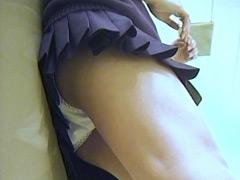 パンチラ:ACT-NET JK制服コレクション6 Vol.15