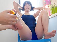 天希ユリナちゃんの脇~乳首~股関節くすぐり動画!