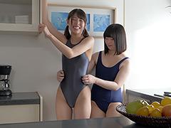 F/F 超人気女優あおいれなチャンのレズくすぐり!