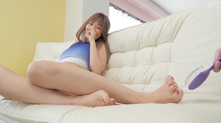 大人気女優 紺野ひかるチャンの足裏くすぐり!