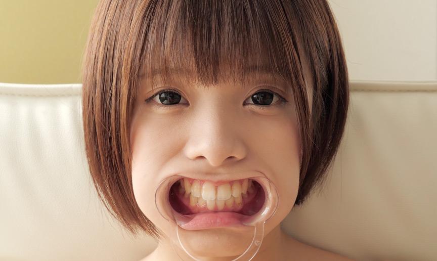 星咲凛チャンのとっても貴重な歯・舌ベロフェチ動画! 画像 7