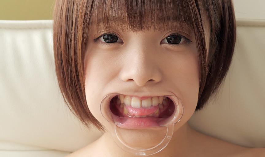 星咲凛チャンのとっても貴重な歯・舌ベロフェチ動画! 画像 9