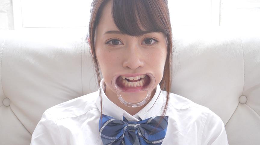 桐山結羽ちゃんのとっても貴重な歯・口内・舌フェチ動画 画像 3