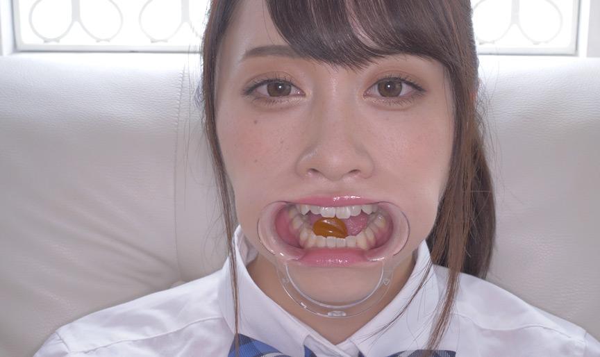 桐山結羽ちゃんのとっても貴重な歯・口内・舌フェチ動画 画像 12