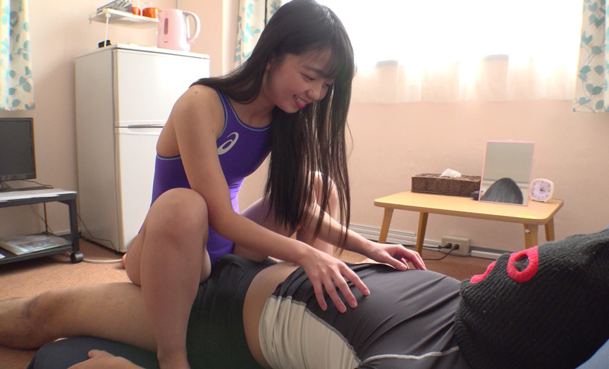 人気女優 泉りおんチャンの電気あんま&M男くすぐり!